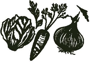Keto Vegetables Hand-Drawn Graphic